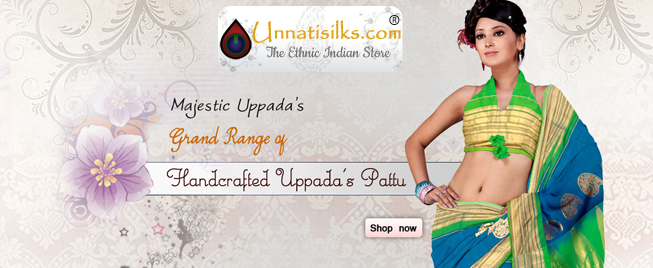 Shop online at Unnati silks and the products will be dispatched within 24 working hours of placing the order.