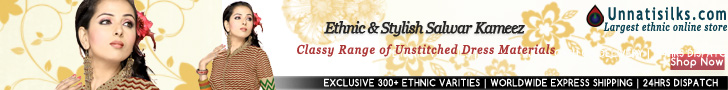 Largest ethnic online Indian shop offers exquisite designer Salwar Kameez, Sarees , All varities of Sarees.
