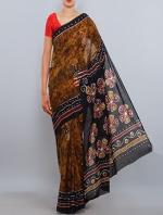 Batik Tussar silks