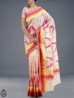 Online Embroidery Tussar Silk Sarees_48