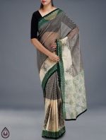 Online Embroidery Tussar Silk Sarees_54
