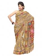 Online Kalamkari Tussar Silk Sarees_10