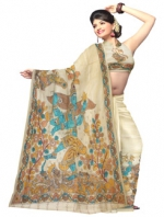 Online Kalamkari Tussar Silk Sarees_13