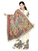 Online Kalamkari Tussar Silk Sarees_14