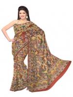 Online Kalamkari Tussar Silk Sarees_15