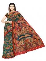 Online Kalamkari Tussar silk sarees_1