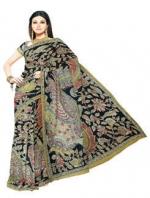 Online Kalamkari Tussar Silk Sarees_18
