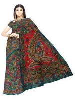 Online Kalamkari Tussar silk sarees_3