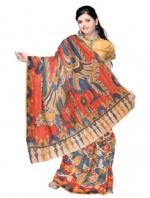 Online Kalamkari Tussar Silk Sarees_7