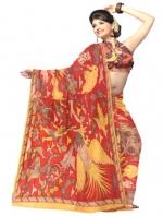 Online Kalamkari Tussar Silk Sarees_8