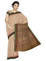 Online Khadi Tussar Silk Sarees_11