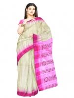 Online Khadi Tussar Silk Sarees_14