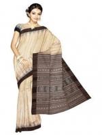 Online Khadi Tussar Silk Sarees_19
