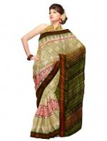 Online Khadi Tussar Silk Sarees_6