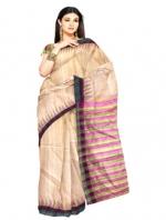 Online Khadi Tussar Silk Sarees_9