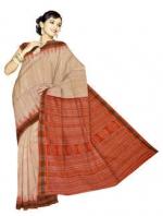 Online Printed Tussar Silk Sarees_11