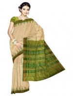 Online Printed Tussar Silk Sarees_14