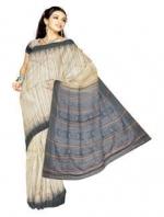 Online Printed Tussar Silk Sarees_15