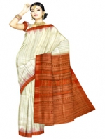 Online Printed Tussar Silk Sarees_16