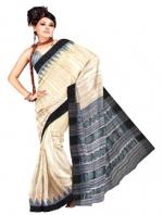 Online Printed Tussar Silk Sarees_17