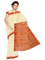 Online Printed Tussar Silk Sarees_18