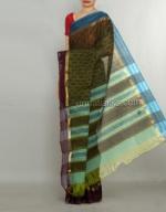 Printed tussar silks