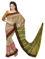 Online Printed Tussar Silk Sarees_4