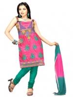 Online Tussar silk Salwar Kameez_14