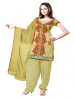 Online Tussar Silk Salwar Kameez_20