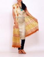 Tussar Silk Salwar Kameez