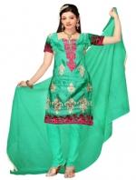 Online Tussar Silk Salwar Kameez_6