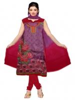 Online Tussar Silk Salwar Kameez_7