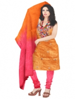Online Tussar Silk Salwar Kameez_8