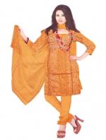 Online Tussar Silk Salwar Kameez_9